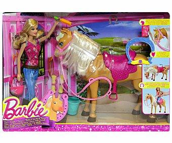 Barbie Muñeca, Caballo y Accesorios 1 Unidad