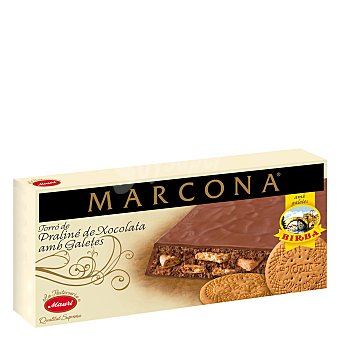 Birba Turrón de chocolate y galleta 200 g