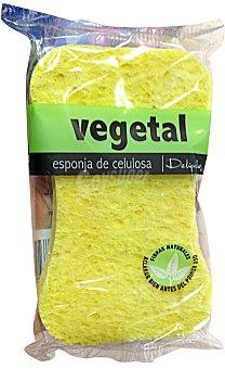 Deliplus Esponja baño vegetal suave pieles sensibles 1u