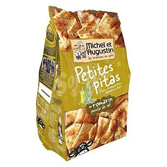 MICHEL ET AUGUSTIN Crackers pitas al romero con aceite de oliva al punto de sal 90 g