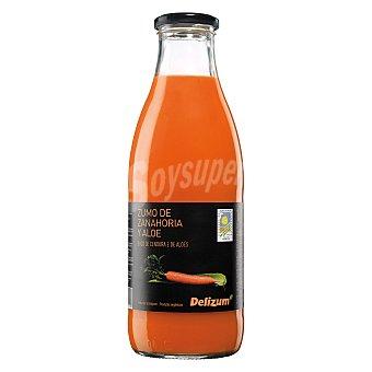Delizum Zumo de zanahoria + aloe vera ecológico 1 l