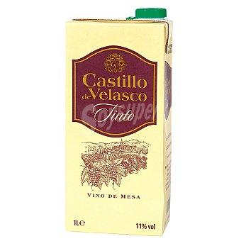 CASTILLO DE VELASCO Vino tinto Envase 1 lt