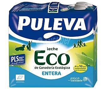 Puleva Leche Entera Ecológica Pack 6 brick x1 Litro