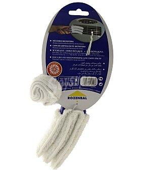 Rozenbal Plumero de microfibra más recambio (especial para limpiar persianas, las láminas de los estores, etc) 1 unidad