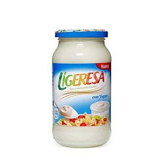 Ligeresa Salsa fina con yogur  Frasco 430 ml