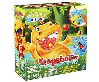 Hasbro Juego de Mesa Infantil Tragabolas, de 2 a 4 Jugadores 1 Unidad