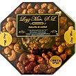 Cesta Doris con cacahuetes garrapiñados, almendras garrapiñadas, macadamias garrapiñadas y almendras peladillas y nuez caramelizada cesta 350 g 350 g Loyz Mar