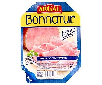 BONNATUR de ARGAL Jamón cocido en lonchas 125 gramos