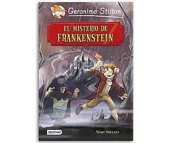 INFANTIL JUVENIL El misterio de Frankenstein, grandes historias de Geronimo Stilton, vv.aa. Género: infantil, juvenil. Editorial: Destino. Descuento ya incluido en pvp. PVP anterior: