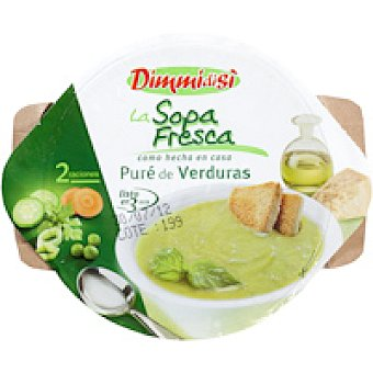 Dimmidisi Puré de verduras para microondas 620 g