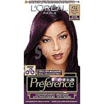 Recital Preference L'Oréal Paris Tinte black spirit Caja 1 unid
