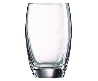 Auchan Vaso para agua modelo Salto, con capacidad de 35 centilitros y fabricado en vidrio transparente 1 Unidad