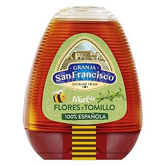 Granja San Francisco Miel de flores y tomillo 350 g