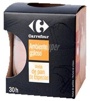 Carrefour Cera perfumada pan especias 1 envase de cera