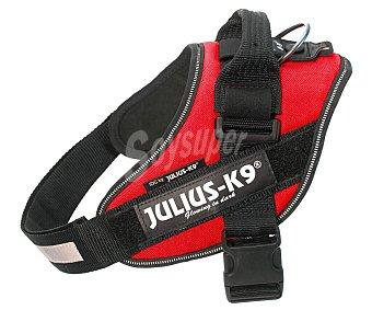 Julius K9 Arnés regulable para perros con reflectante color rojo 14-25 kg