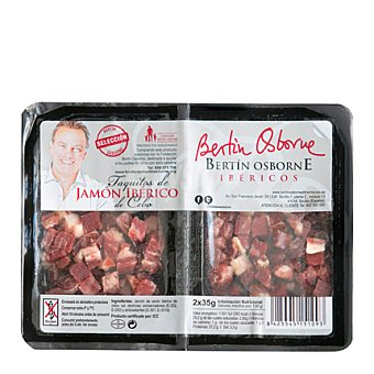 Bertín Osborne Selección Taquitos de jamón 70 g
