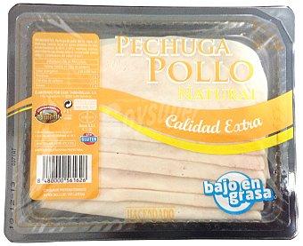 Hacendado Fiambre pechuga pollo calidad extra lonchas Paquete 200 g