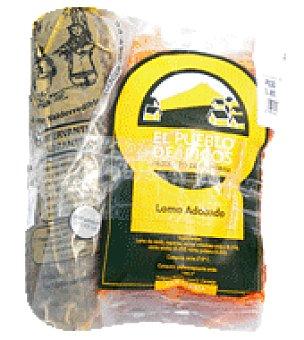 Lomo adobado natural Bandeja de 800.0 g.