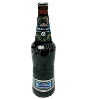 BALTIKA Cerveza Lager Premium nº 6 50 cl