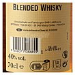 Whisky 70 cl Westerly