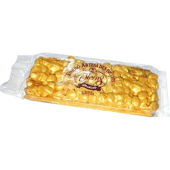 Vicens Marcona oro turrón duro de almendra Tableta 200 g