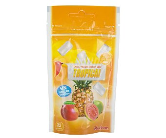 Auchan Chicle tropical 45 g