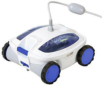GRE Robot limpiafondos modelo Kayak Track, recomendado para piscinas de hasta 120 m², ya que cuenta con una potencia de filtrado de 17m³/h y cualquier tipo de revestimiento 1 unidad