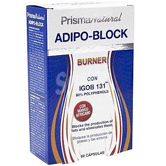 PRISMA NATURAL Adipo Block Burner reductor de grasa  envase 60 capsulas