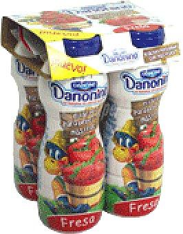 Danonino Danone Danonino beber fresa 4 UNI