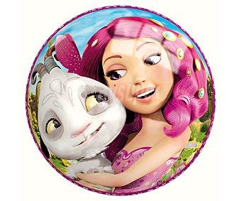 MIA AND ME Pelota infantil de 14 centímetros decorada con los personajes y hadas de la serie 1 unidad
