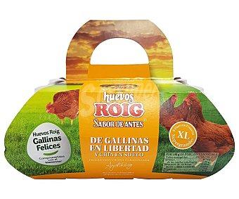 Roig Huevos (xl) de gallinas en libertad y crái en suelo 6 uds