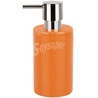 Tube dosificador de jabón en color naranja