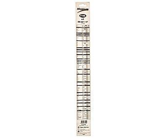 Magnum Limpiaparabrisas flexible de 450 milímetros de longitud, adaptador de ajuste tipo U 1 unidad