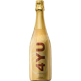 4YU Cava extra brut reserva botella  75 cl