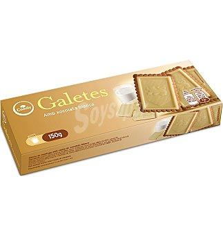 Condis Galletas c/tab.choc bla 150 G