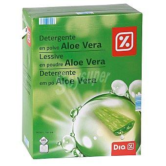 DIA Detergente máquina polvo aloe vera maleta 45 cacitos 45 cacitos