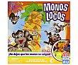 Juego de Mesa Monos Locos, De 2 a 4 Jugadores 1 unidad Mattel