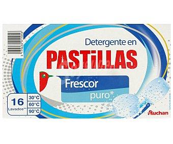Auchan Detergente en pastillas 32 unidades