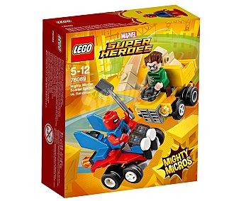 LEGO Juego de construcciones con 89 piezas Mighty Micros: Scarlet Spider vs. Sandman, Súper Héroes 76089 lego