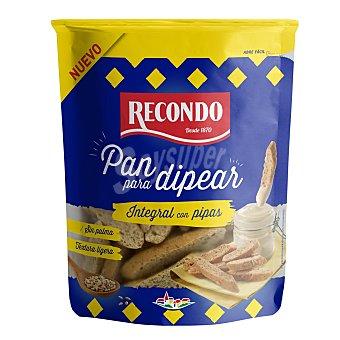 Recondo Pan integral con pipas para dippear sin aceite de palma Bolsa 85 g
