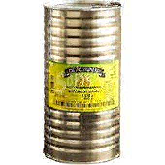 Los Aceituneros Aceitunas manz. rellenas de anchoa Lata 600 g