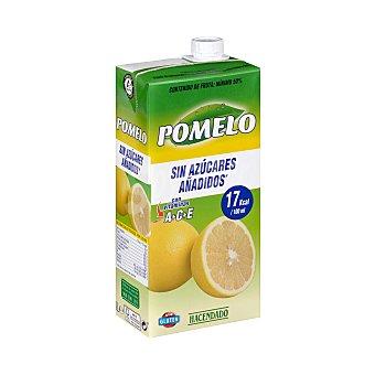 Hacendado Bebida pomelo (sin azucares añadidos) Brick 1 l