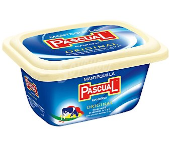 Pascual Mantequilla sin Sal Tarrina de 250 Gramos