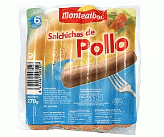 Montealbor Salchicha de Pollo 270g