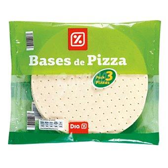 DIA Base de pizza congelada Pack 3 uds