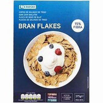 Eroski Cereales bran flakes salvado de trigo Caja 375 g