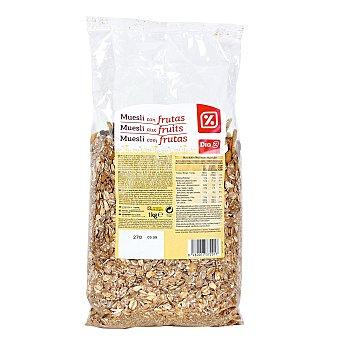 DIA Cereales muesli con frutas paquete 1kg Paquete 1kg