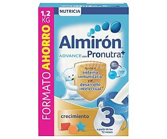 Almirón Nutricia Leche de crecimiento 3 Advance Caja 1.2 kg
