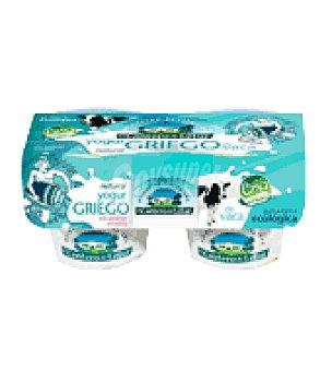 Letur Yogur griego de vaca eco Pack de 2x125 g