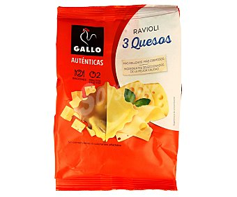 Gallo Ravioli de 3 quesos 250 gr